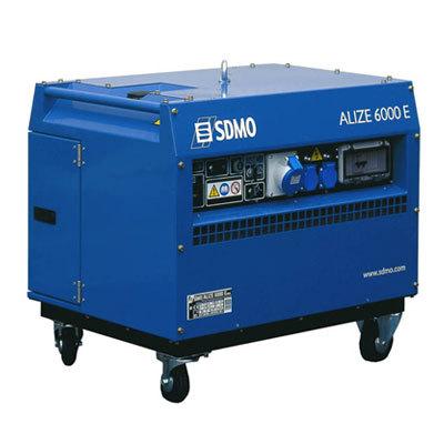 Генератор SDMO ALIZE 6000 E в Белинскийе