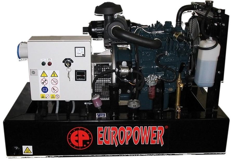 Генератор дизельный Europower EP 30 DE в Белинскийе