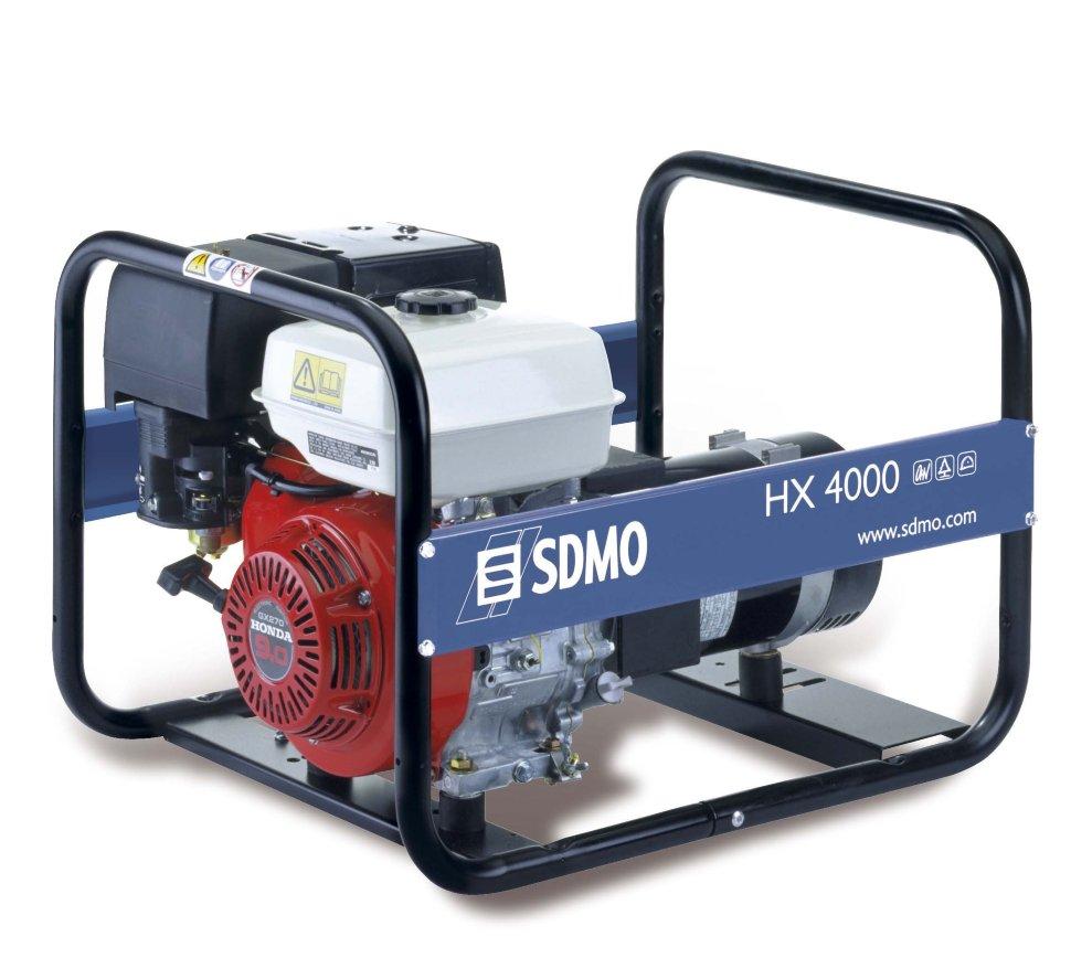 Генератор SDMO HX 4000-S в Белинскийе