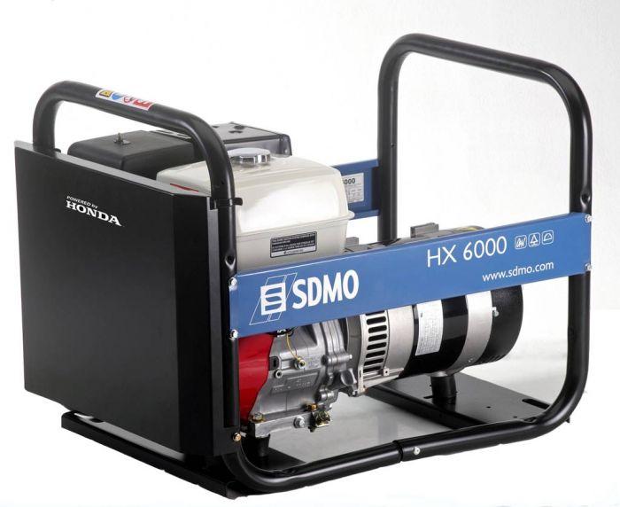 Генератор SDMO HX 6000-S в Белинскийе