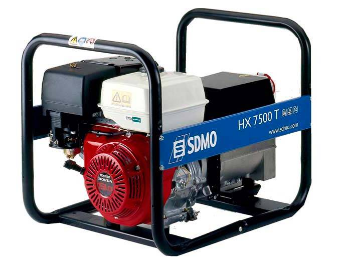 Генератор SDMO HX 7500 T-S в Белинскийе